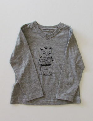 Grey Bear Long Sleeve T-Shirt