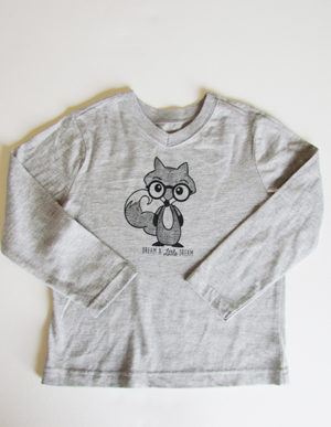 Grey Fox Long Sleeve T-Shirt