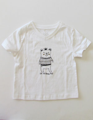 White Bear Short Sleeve T-Shirt