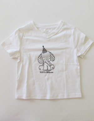 White Elephant Short Sleeve T-Shirt