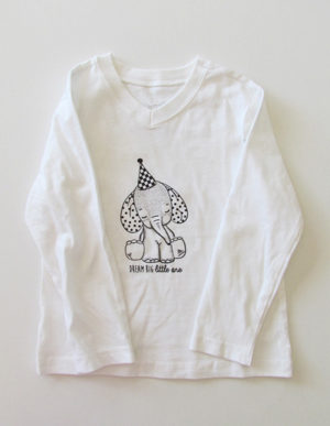 White Elephant Long Sleeve T-Shirt