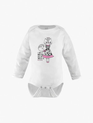Kitty Long Sleeve – Pink