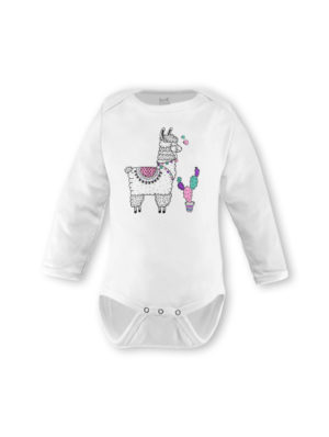 Llama Girl Long Sleeve (Made-to-Order)