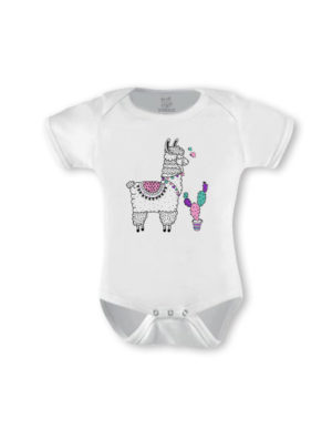 Llama Girl Short Sleeve (Made-to-Order)