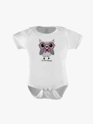 Owl w/Pink Glasses Short Sleeve