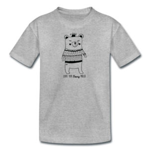 Grey Bear Short Sleeve T-Shirt