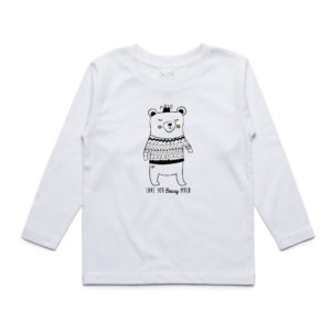 White Bear Long Sleeve T-Shirt