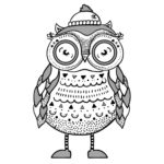 Owl with Beenie