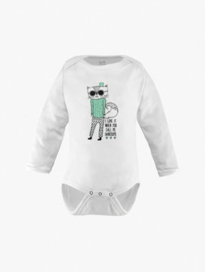 Kitty Long Sleeve – Mint