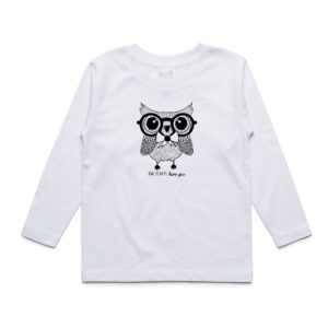 White Owl Long Sleeve T-Shirt