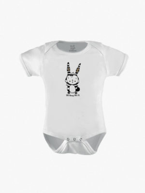 Striped Bunny Short Sleeve