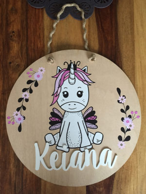 Custom Wooden Room Decor w/Name