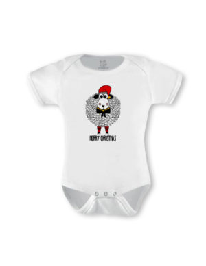 Christmas Sheep Short Sleeve