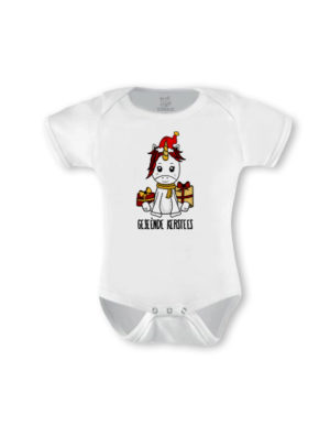 Christmas Unicorn Short Sleeve